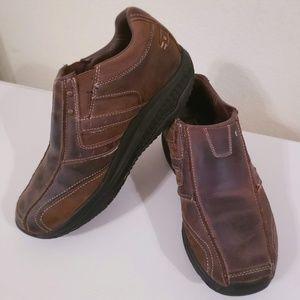 Skechers Shape-Ups Men's Size 10 Brown Leather